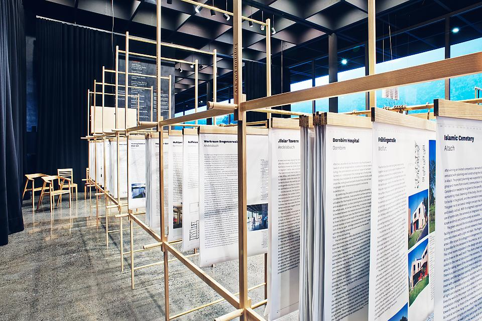Getting Things Done Exhibition View  firm Architektur und Bauherrenmanagement  Österreich Schweiz